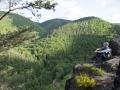 Ausblick auf das Schwarzatal von der Ingoklippe aus